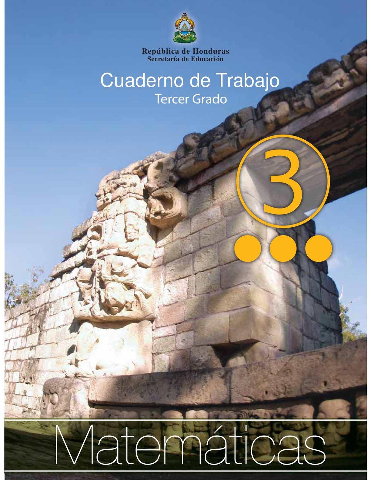 Calaméo - 3er Grado - Cuaderno de Trabajo - Matematicas