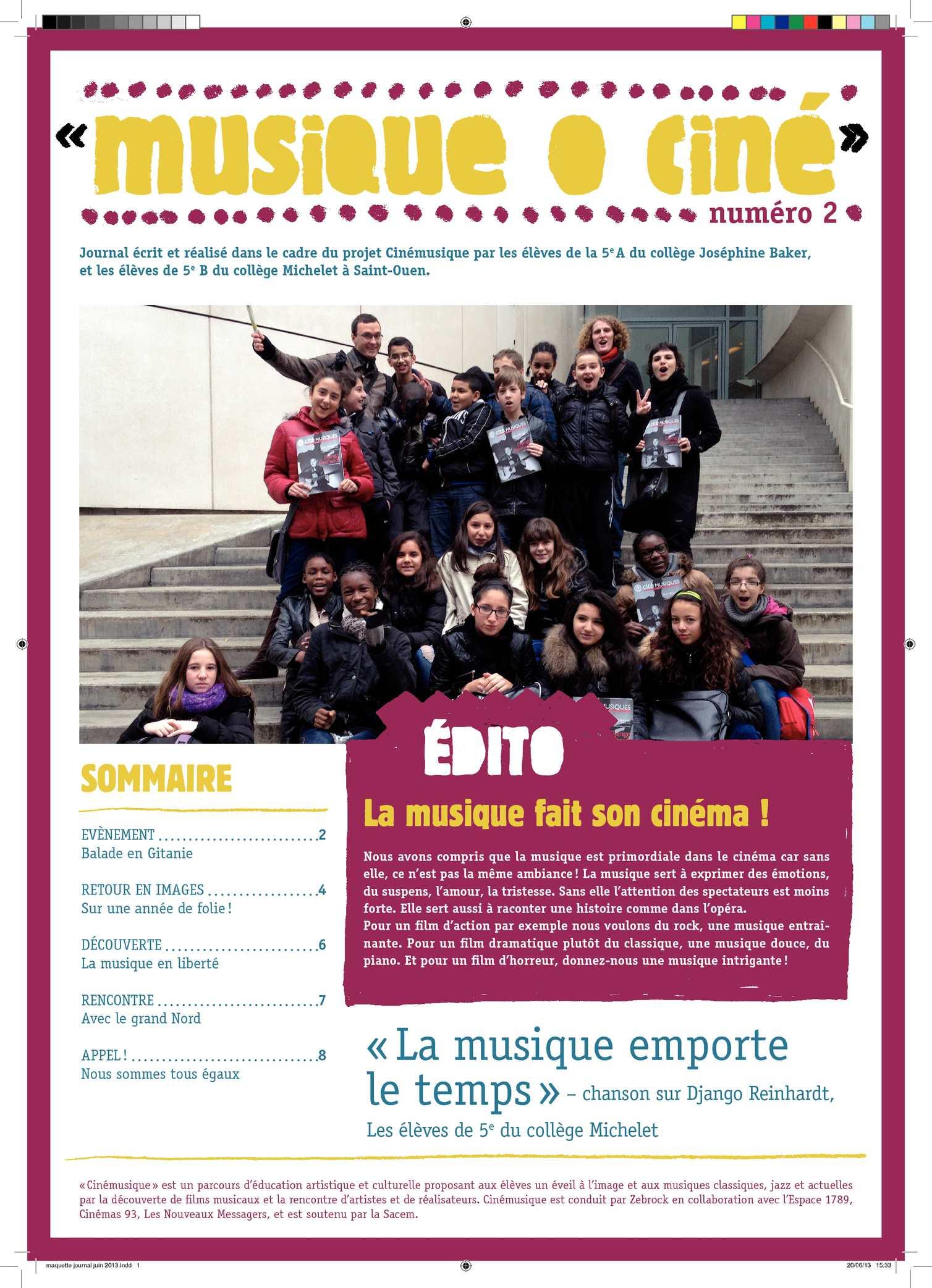 Cinémusique 2013