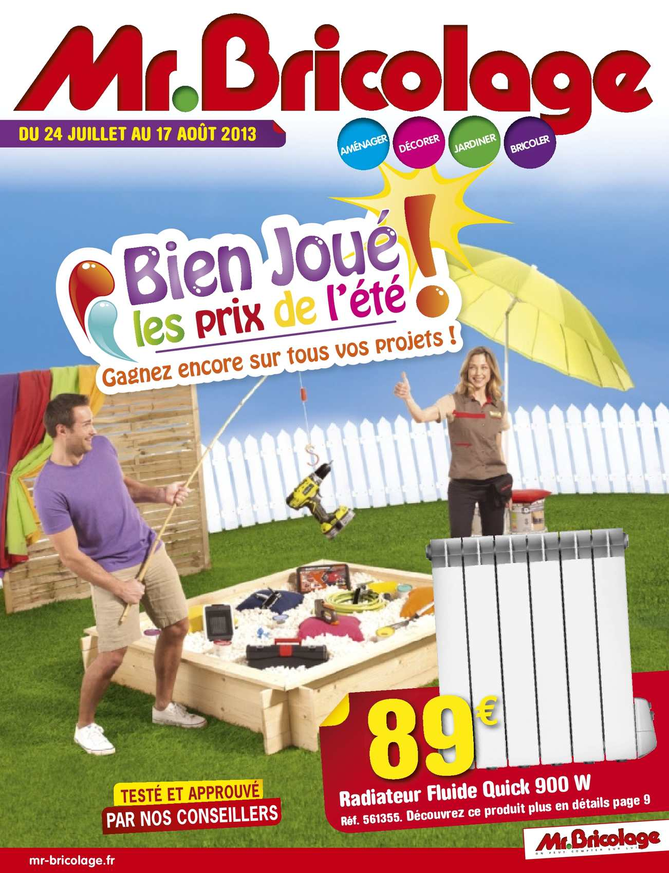Calam o catalogue mr bricolage et 2 for Catalogue jardin 2015 mr bricolage