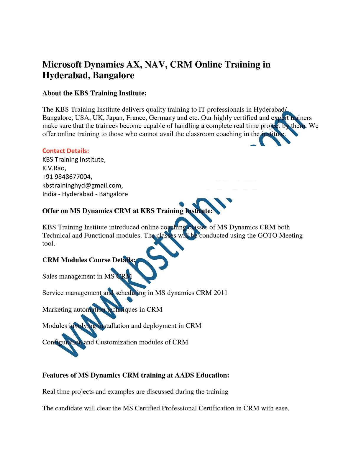 Calamo Microsoft Dynamics Axcrm And Nav Online Training In