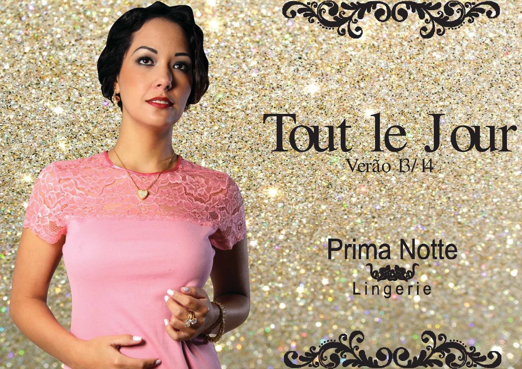 Catálogo Camisetes - Linha Tout le Jour - PRIMA NOTTE LINGERIE®
