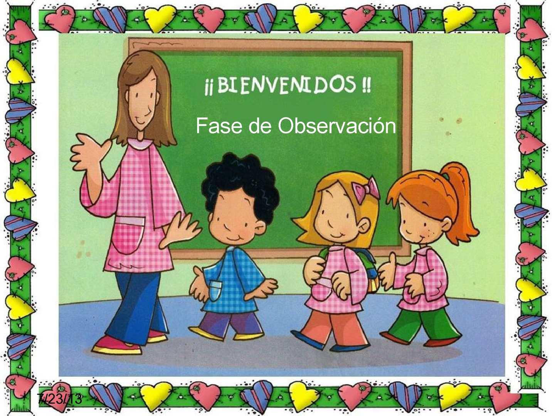 Calam o fase de observacion upel for Grado superior de jardin de infancia