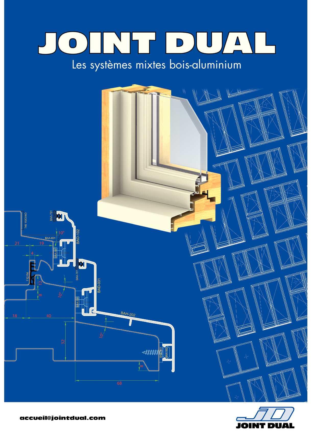 Calam o catalogue mixtes bois aluminium for Cremones de fenetre translation