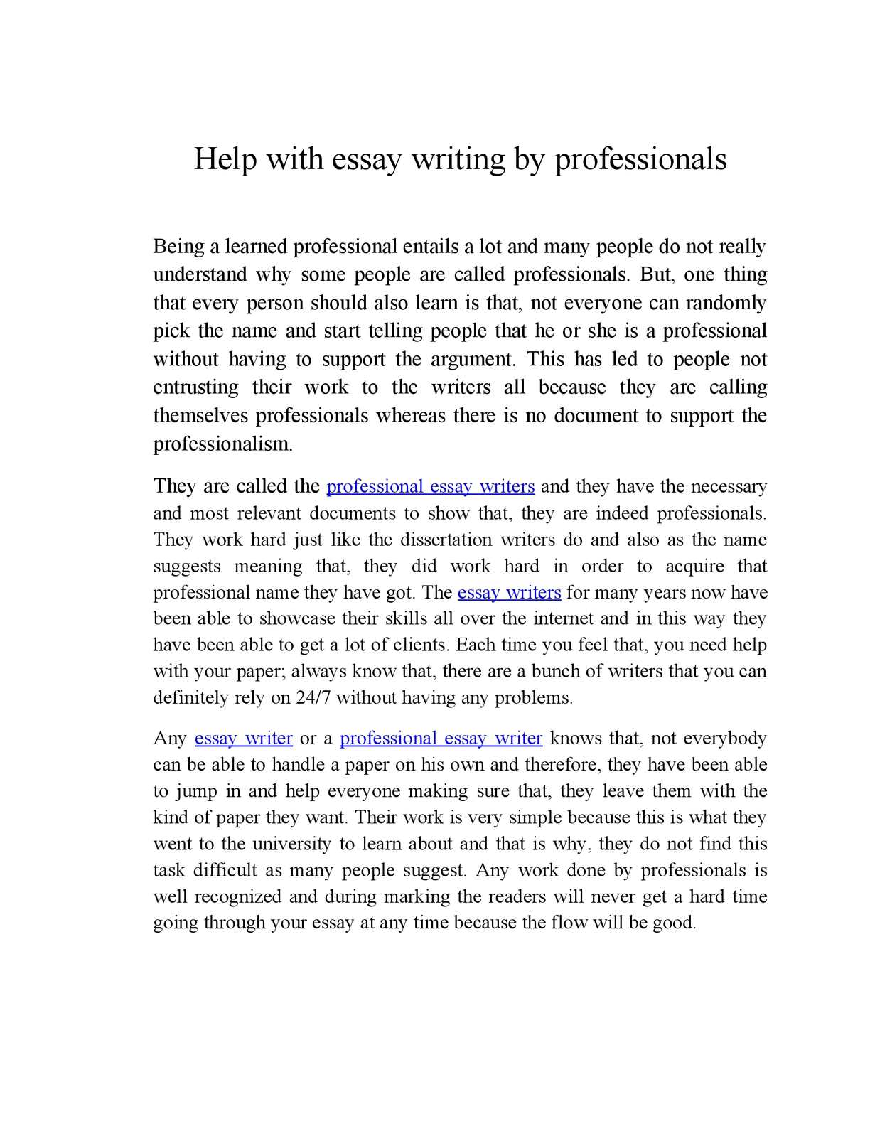 help with essay papers Searching for a person to write your college essay make an order with our essay writing service and receive a plagiarism-free paper sample that fully meets your.