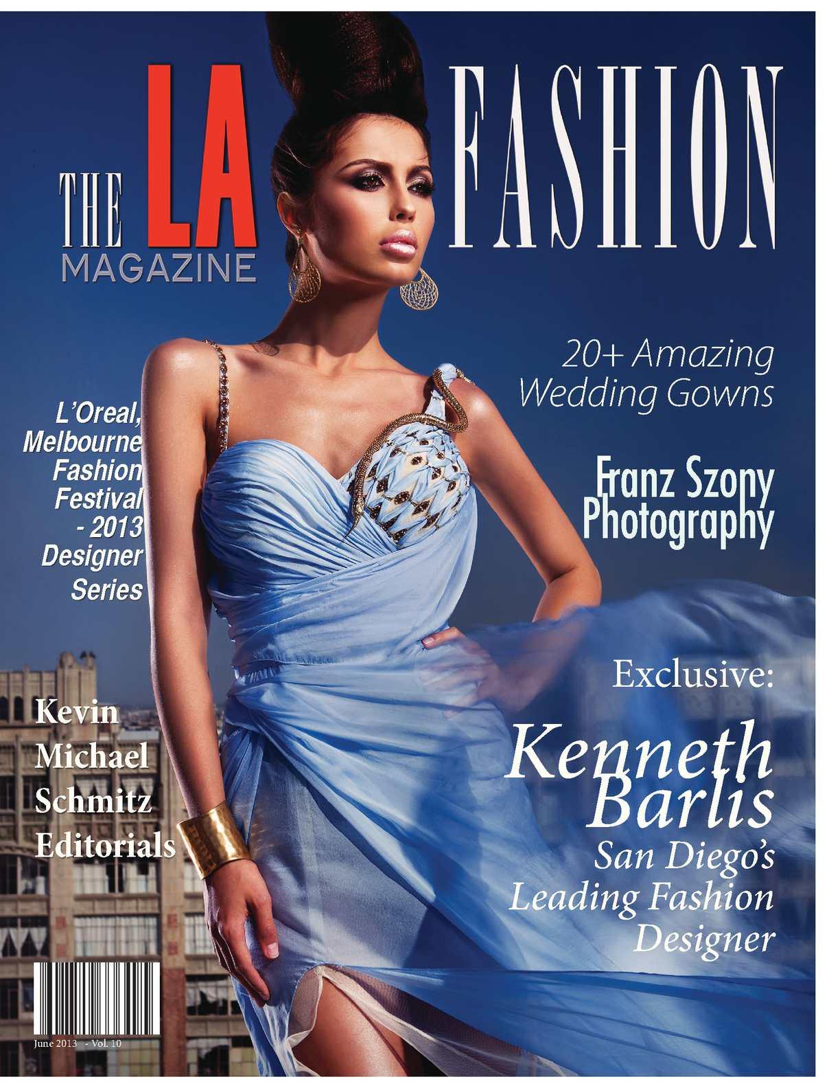 The LA Fashion magazine June 2013