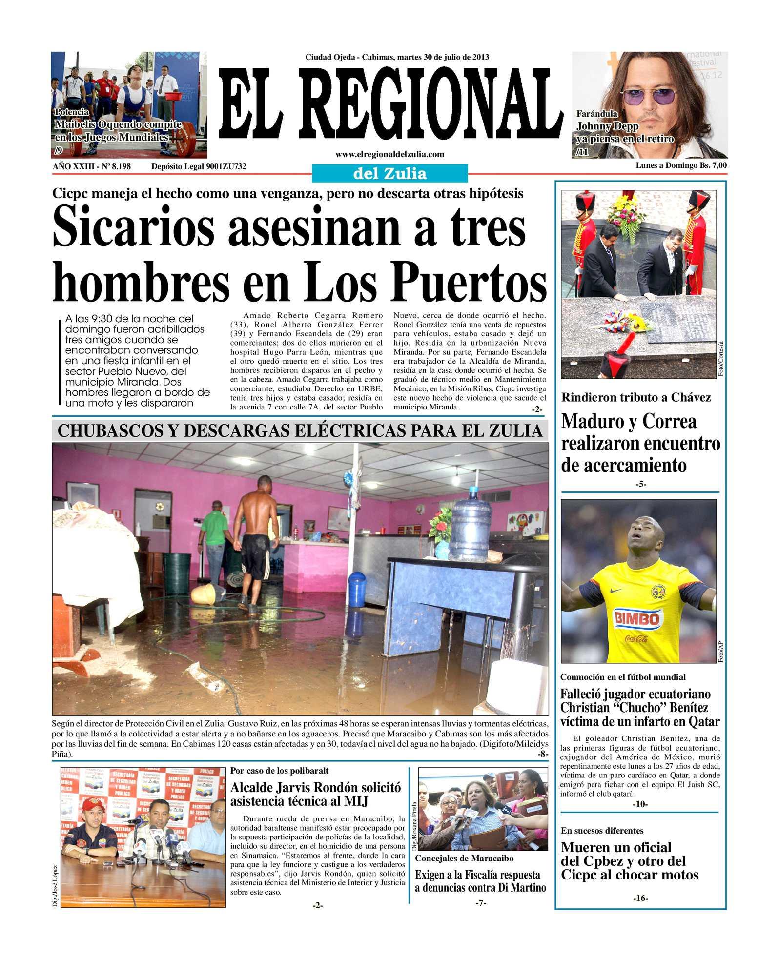 Calaméo - El Regional del Zulia 30-07-2013