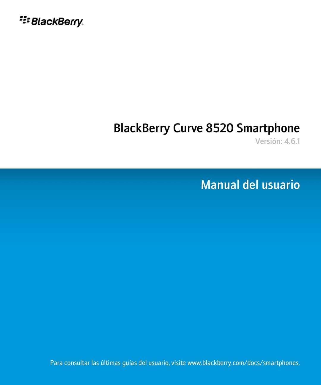 Calaméo - BlackBerry Curve 8520 Smartphone manual de usuario