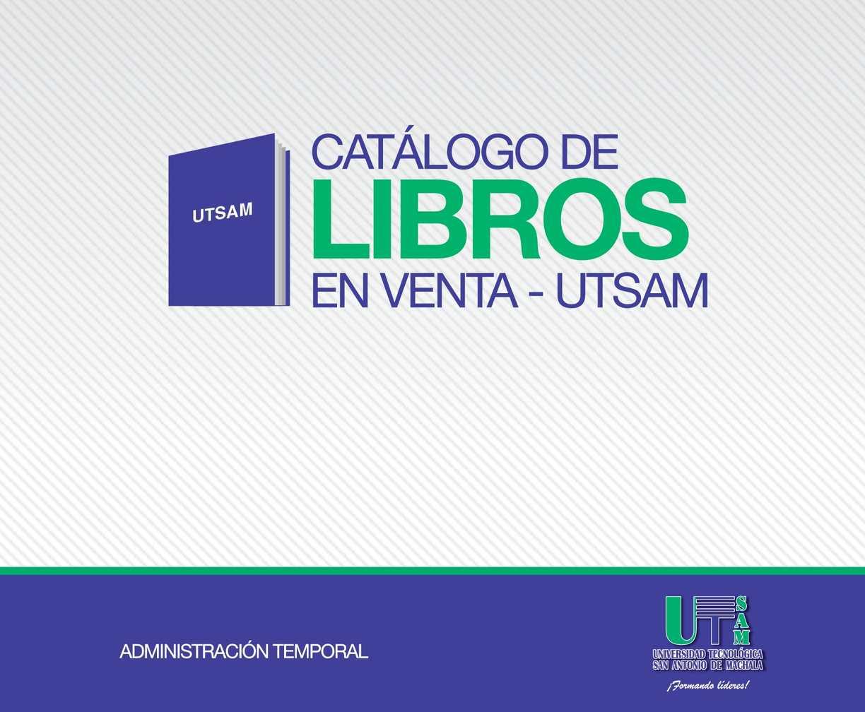 Calaméo - LIBROS UTSAM