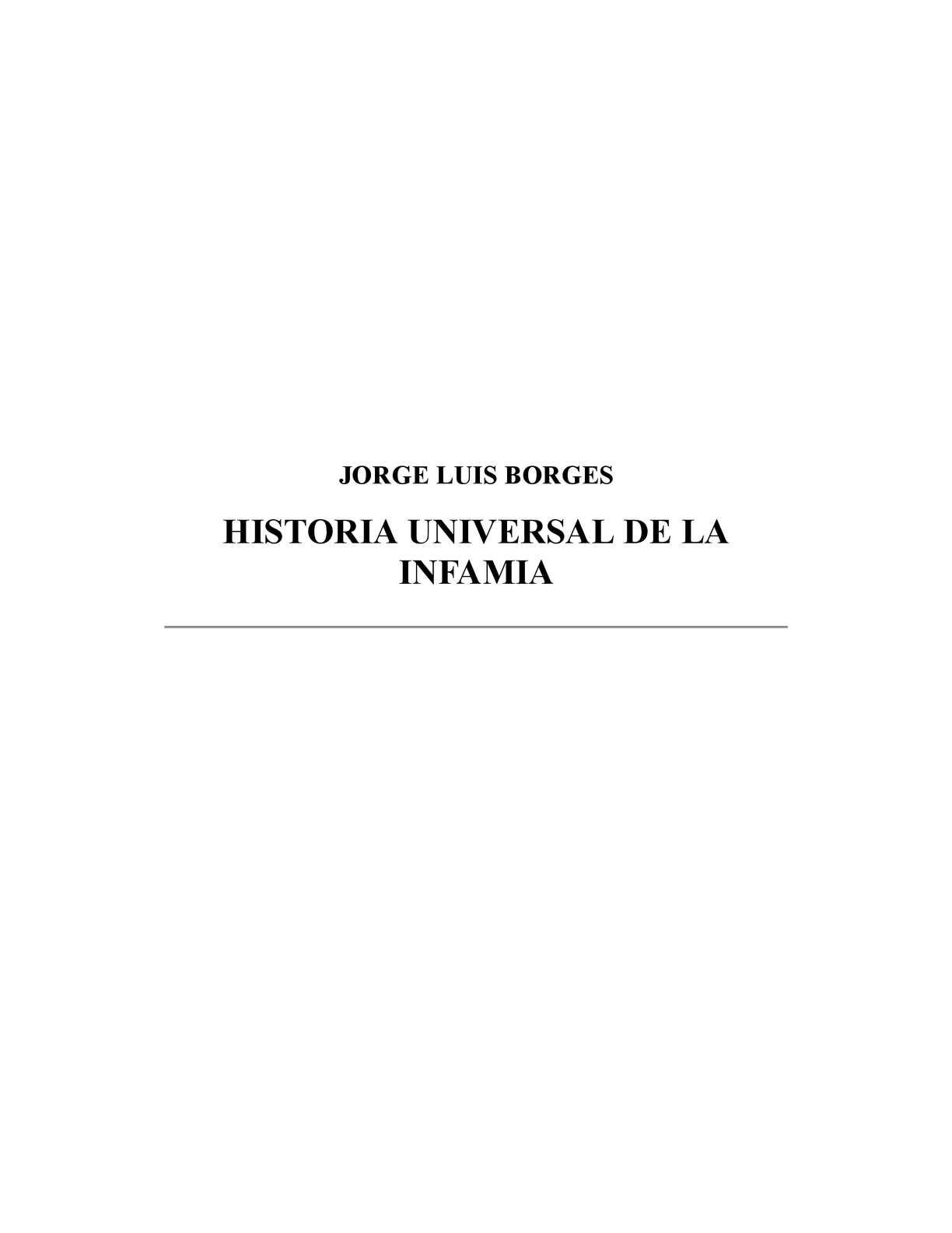 Calaméo - Historia universal de la infamia