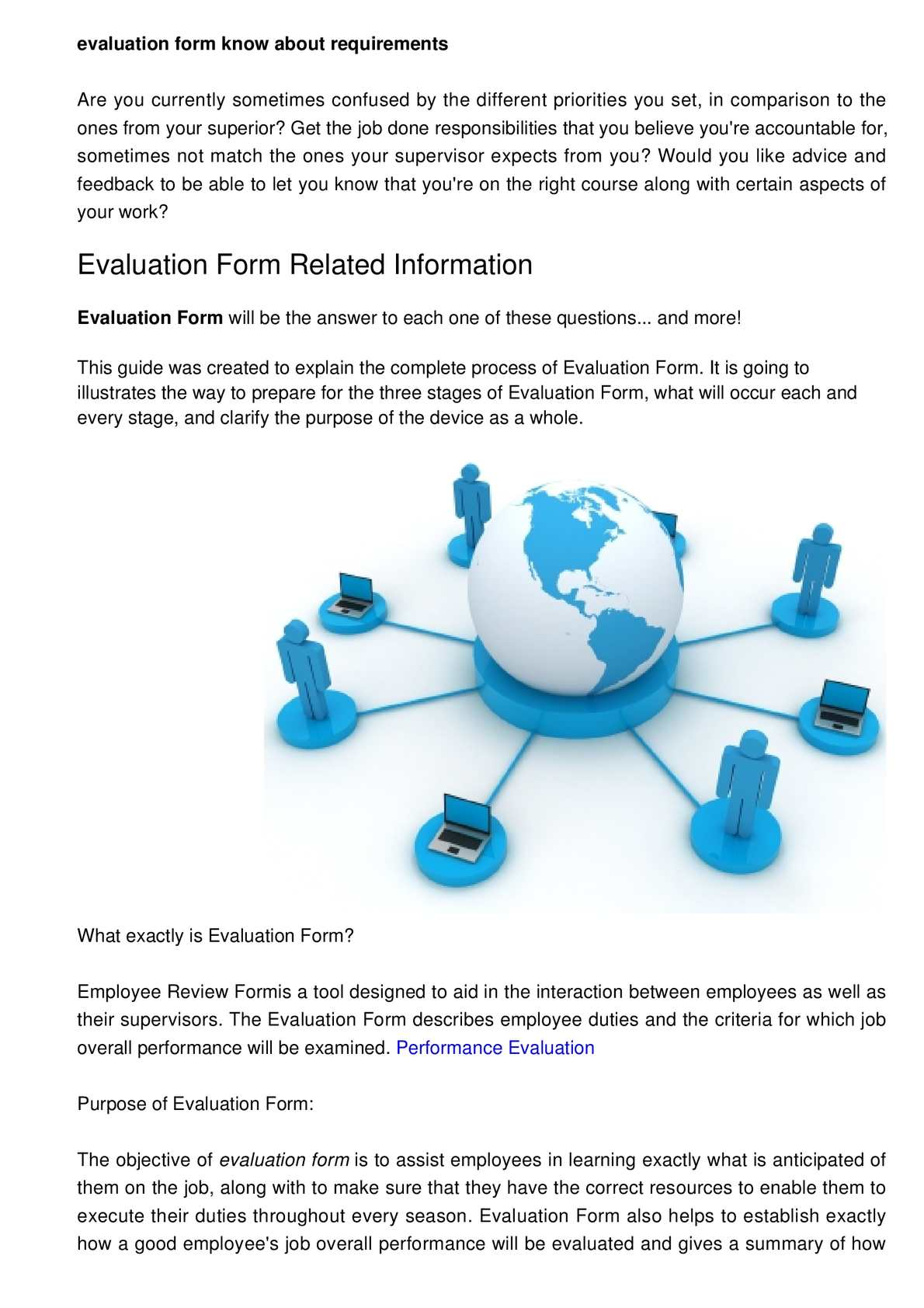 calamo evaluation form know about conditions for becoming successful - What Is Evaluation Form
