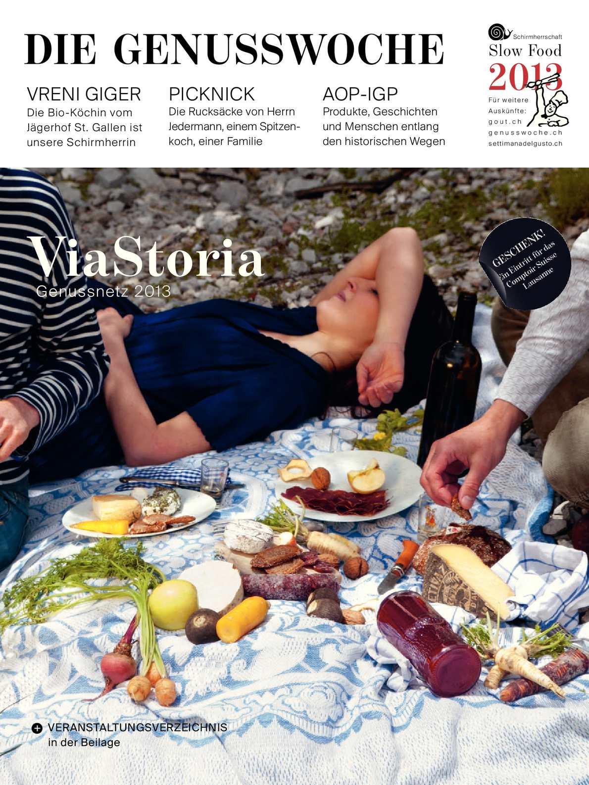 Calaméo - Magazin der Genusswoche 2013