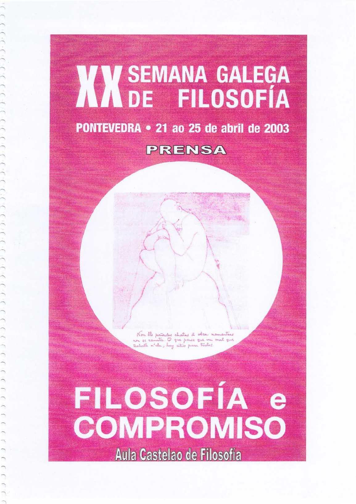 Calaméo - XX Semana Galega de Filosofía
