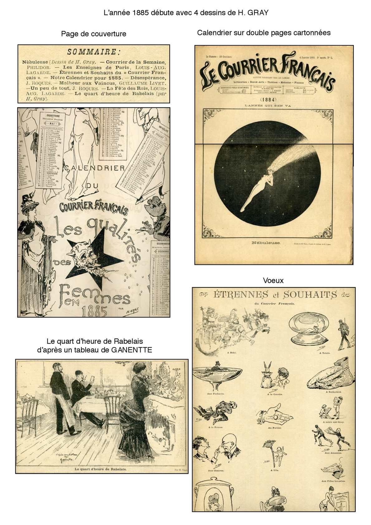 Le Courrier Français 1885