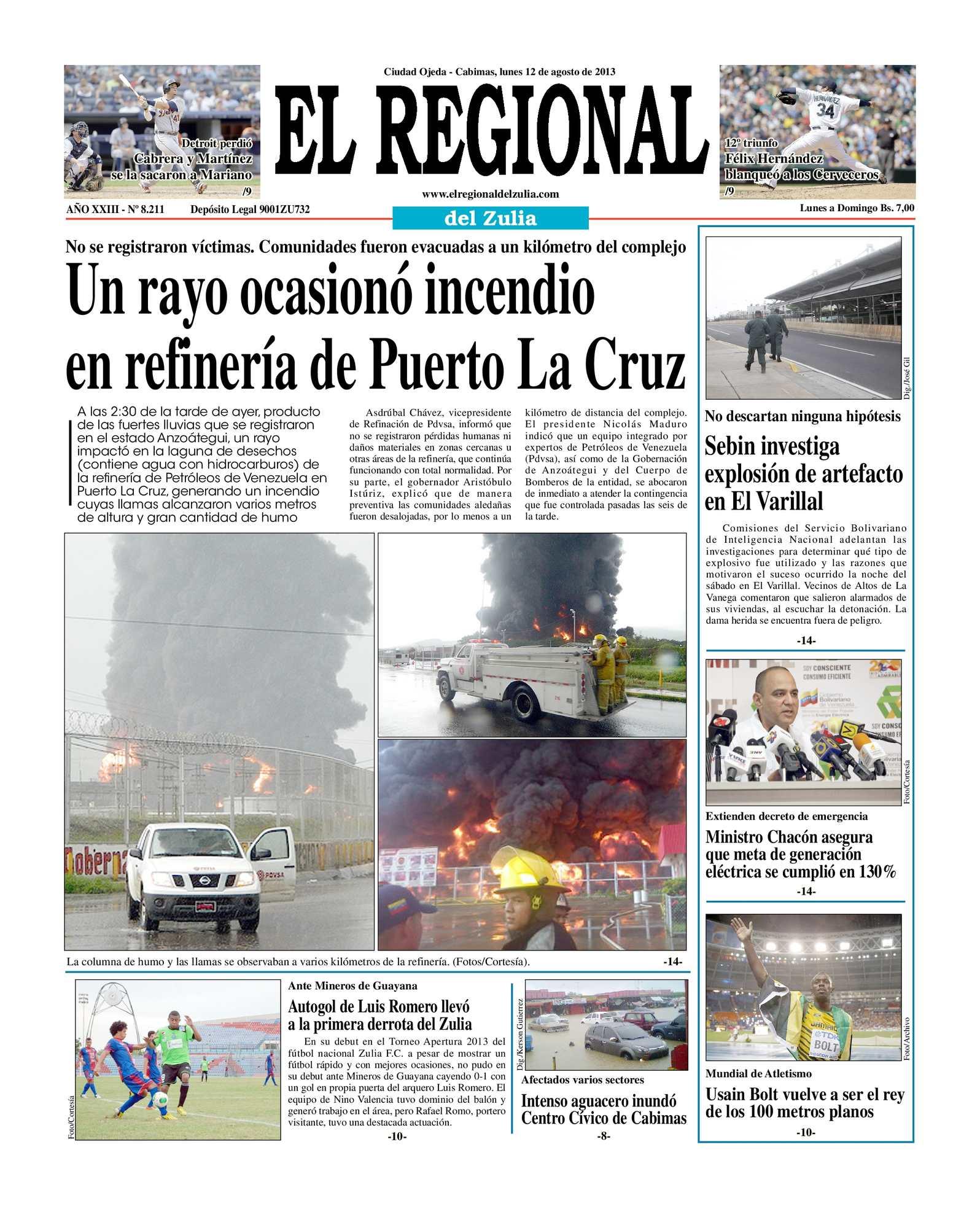Calaméo - El Regional del Zulia 12-08-2013