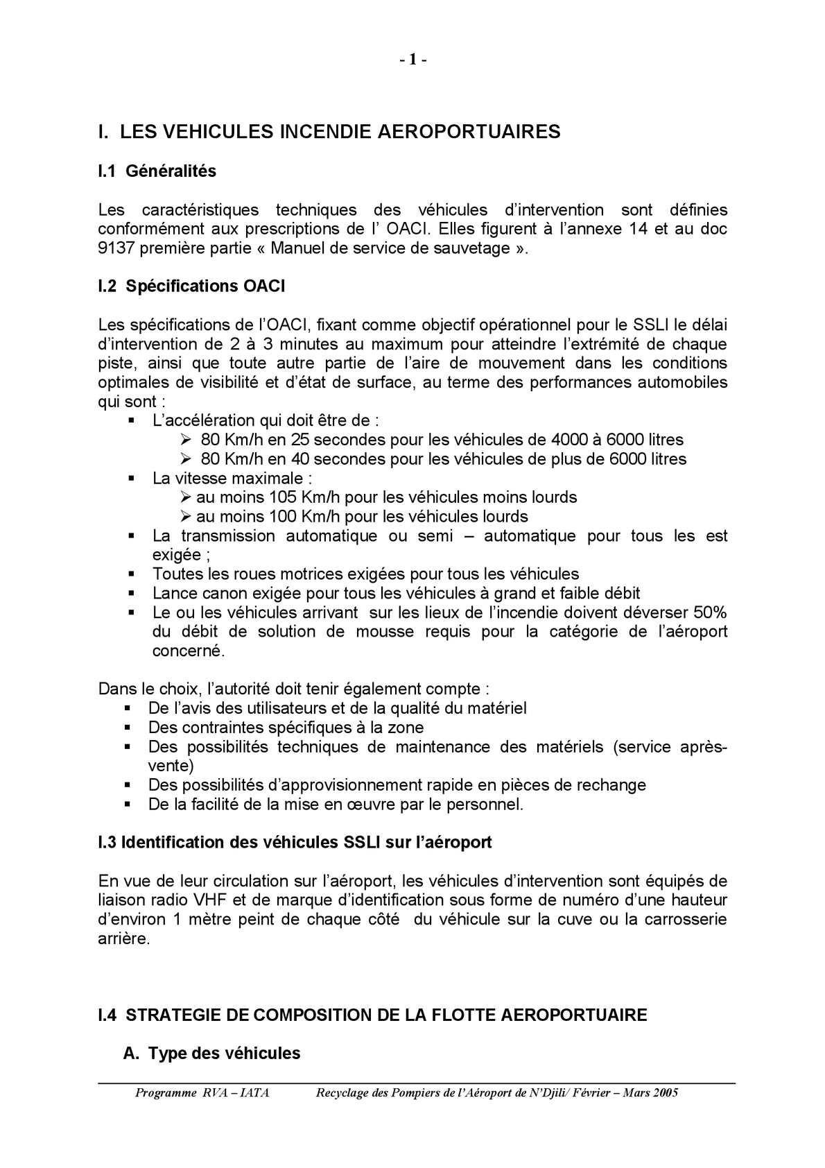 MODULE 3 LE MATERIEL D'INTERVENTION SSLI