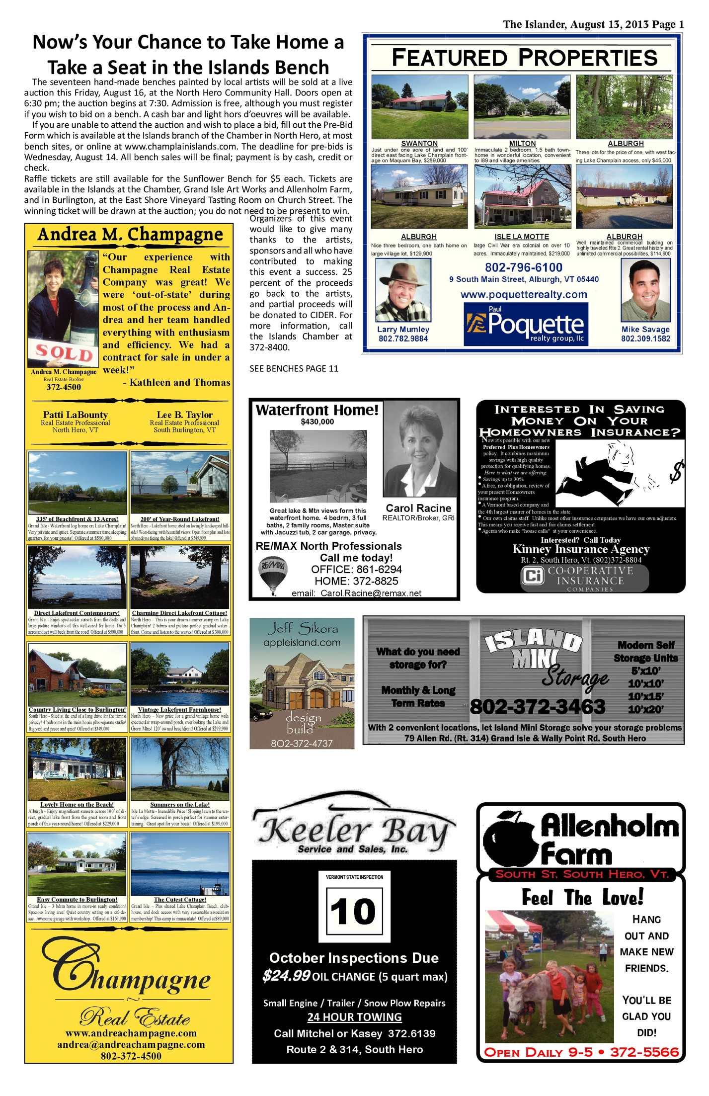 The Islander, August 13, 2013