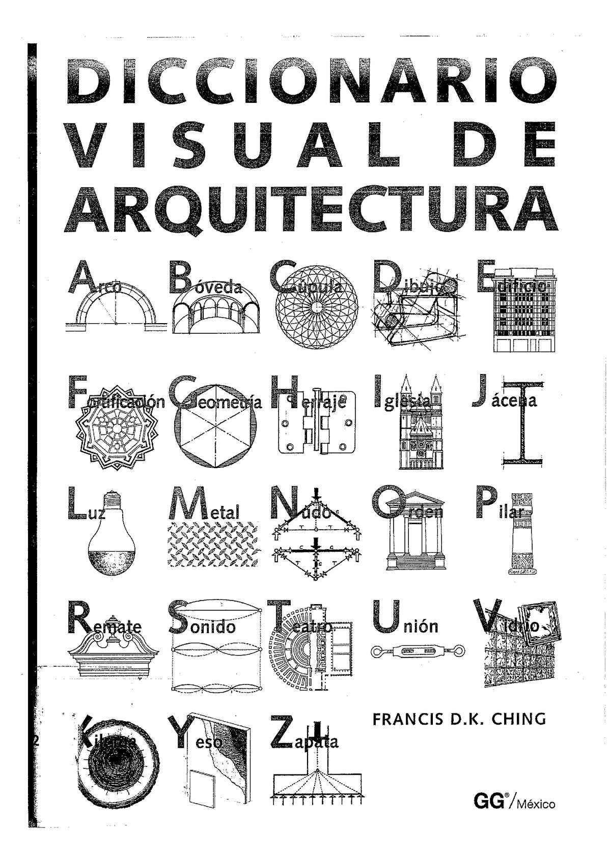 Diccionario visual de arquitectura (Francis D. K. Ching)