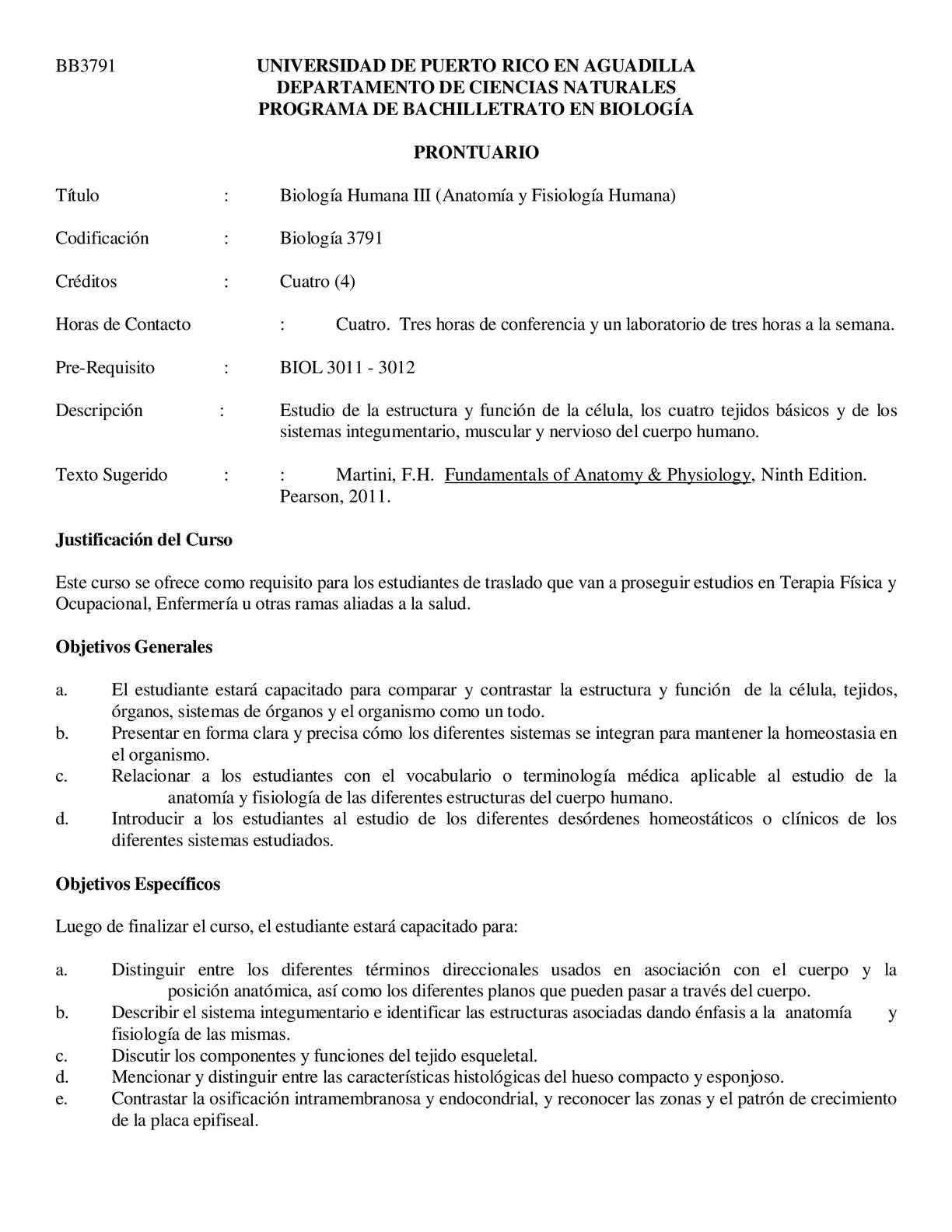 Calaméo - Prontuario Anatomia y Fisiología I