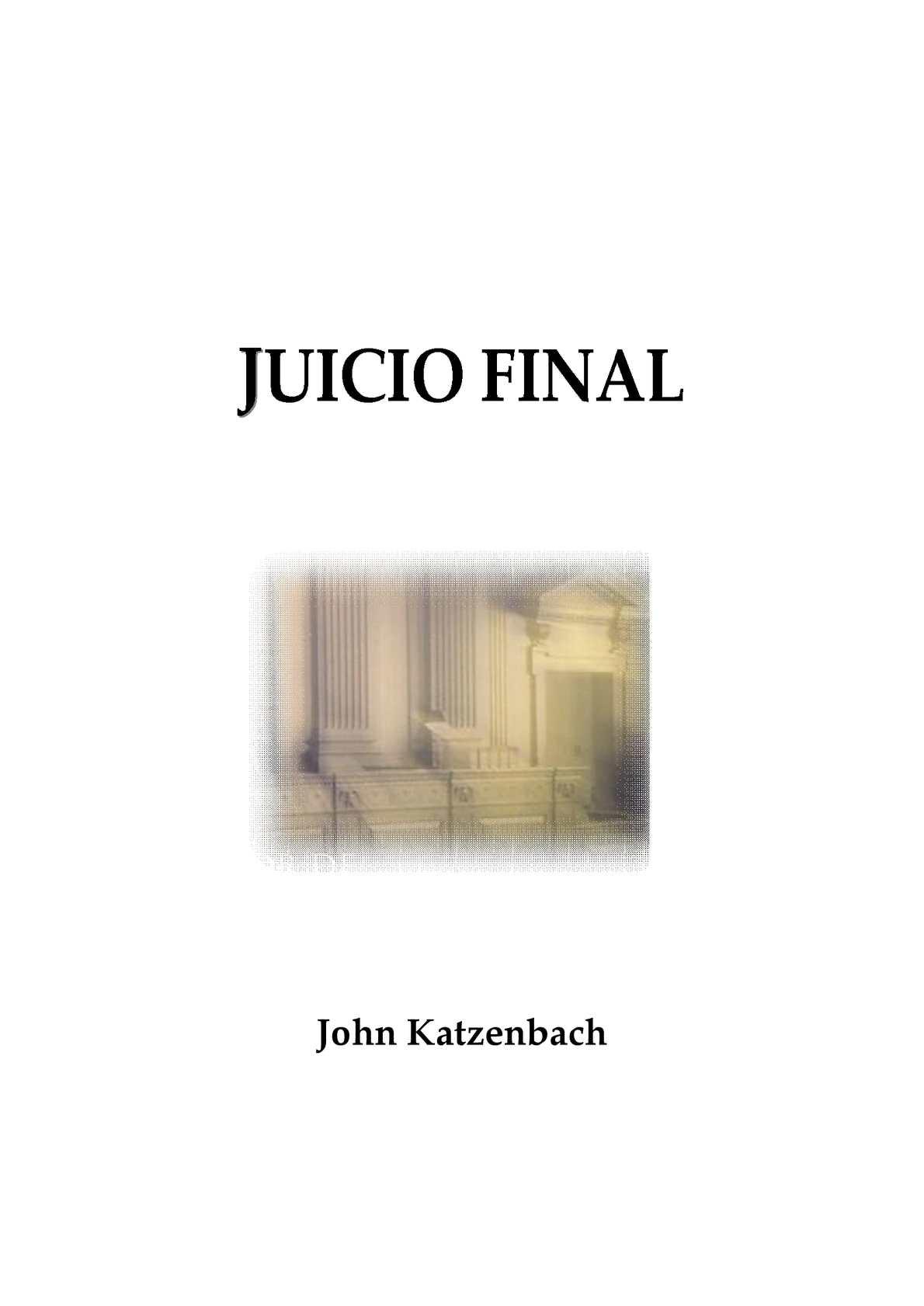 Calaméo - Libro  Juicio Final-John Katzenbach 905eb6879b1