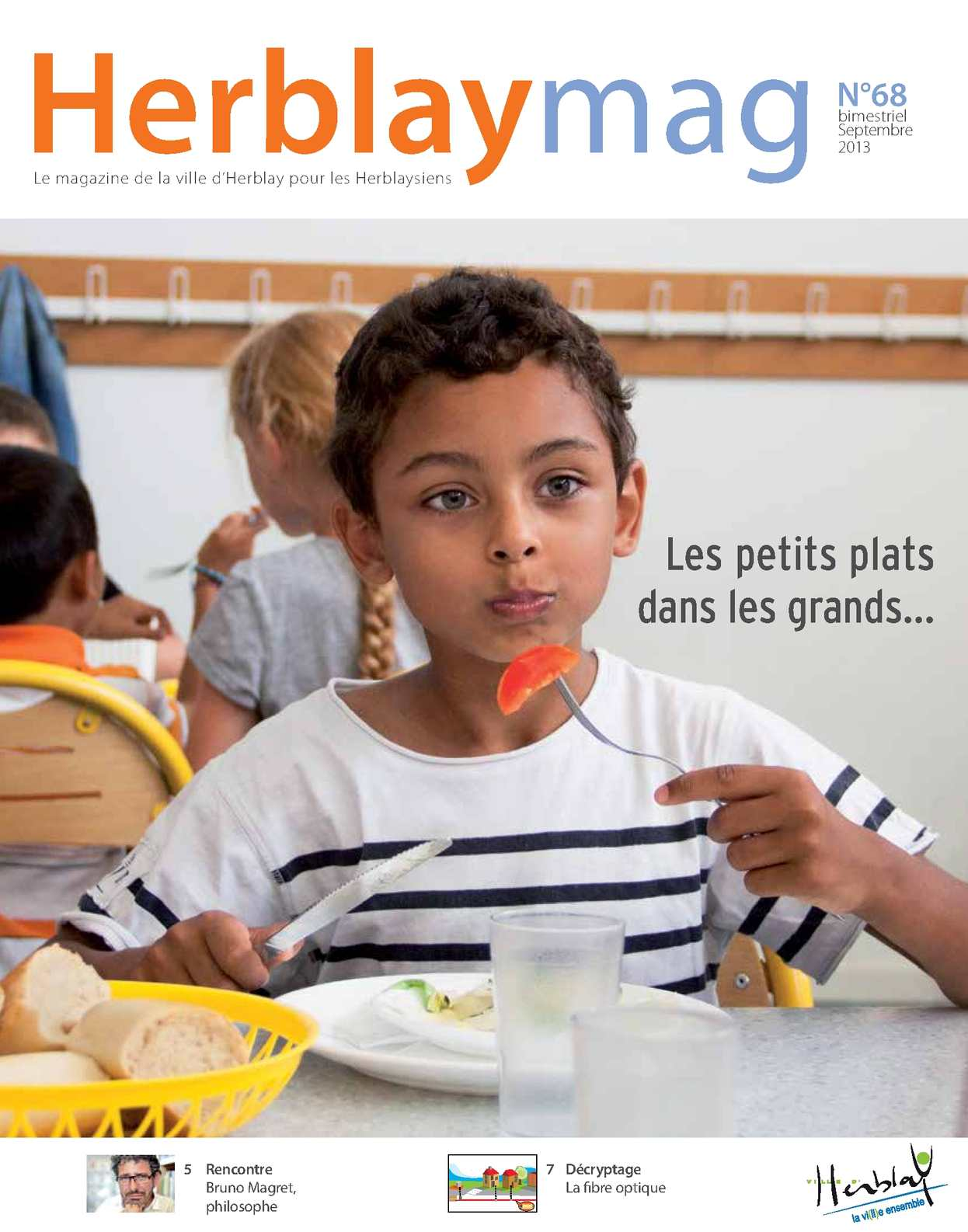 Calam o herblay mag n 68 septembre 2013 for Piscine d herblay
