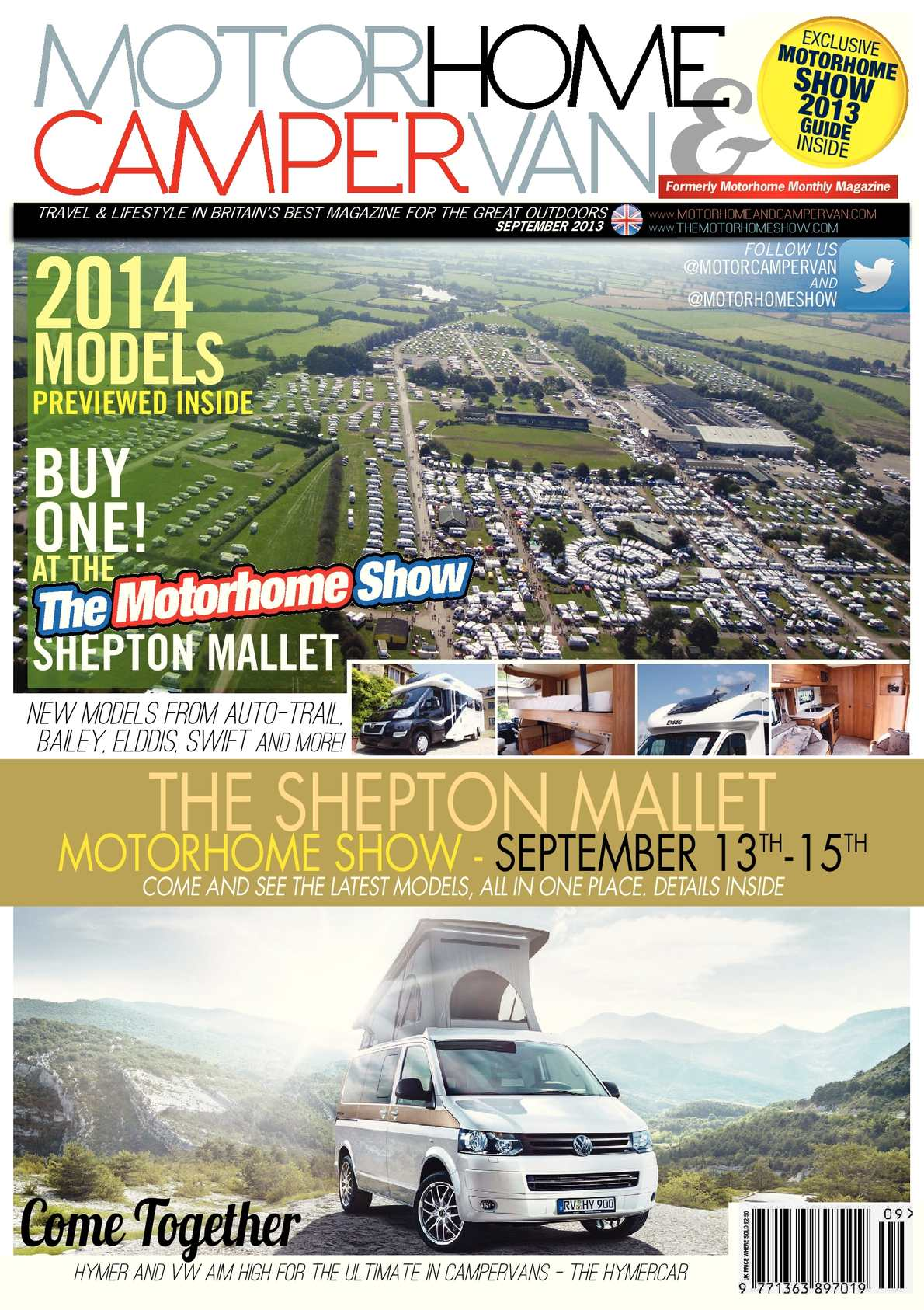 Calaméo Sept 2013 Motorhome & Campervan Magazine