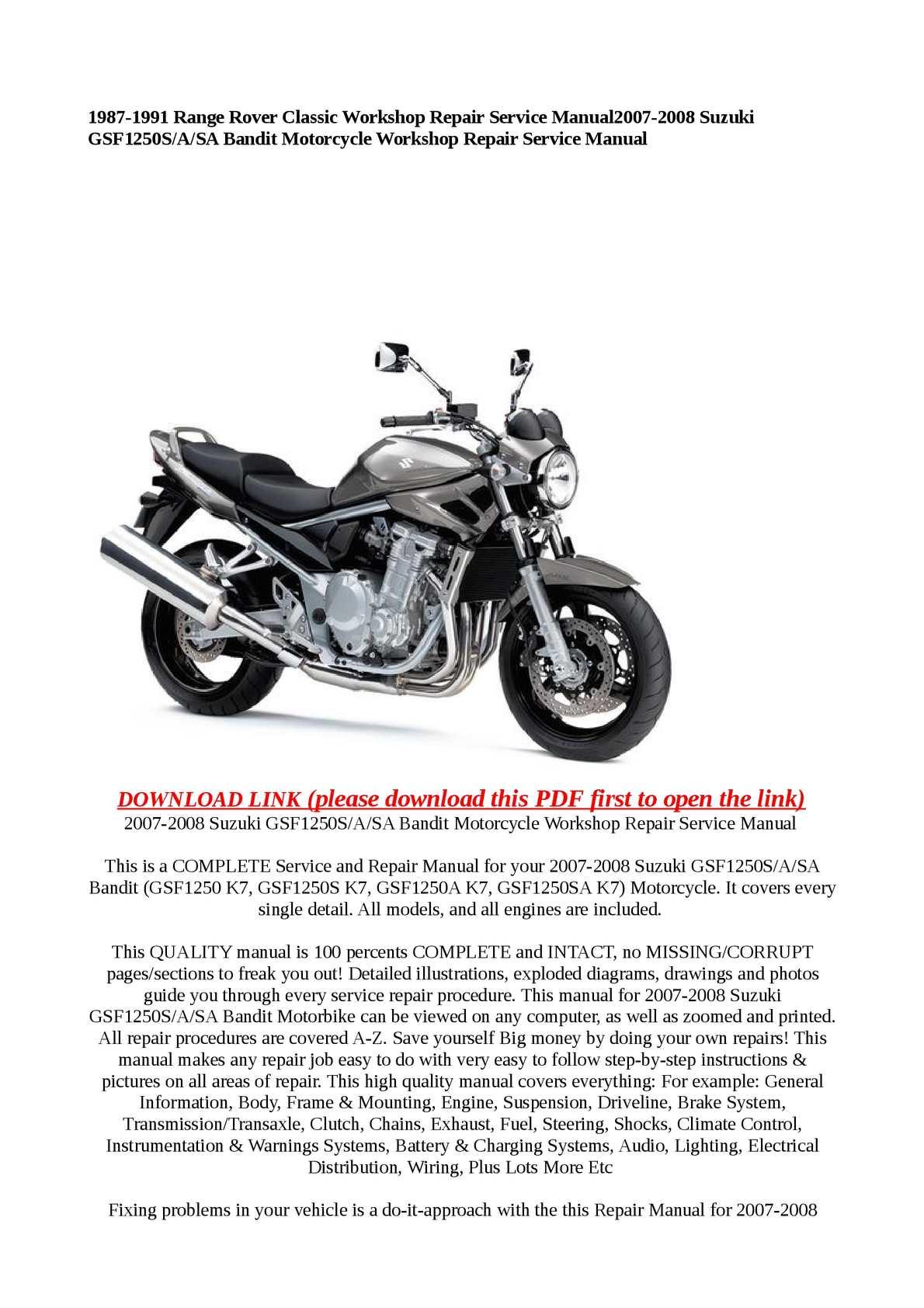 calam o www tradebit com visit php 424362 product 222087030 rh calameo com Suzuki RM 125 Repair Manual Suzuki Auto Repair Manuals