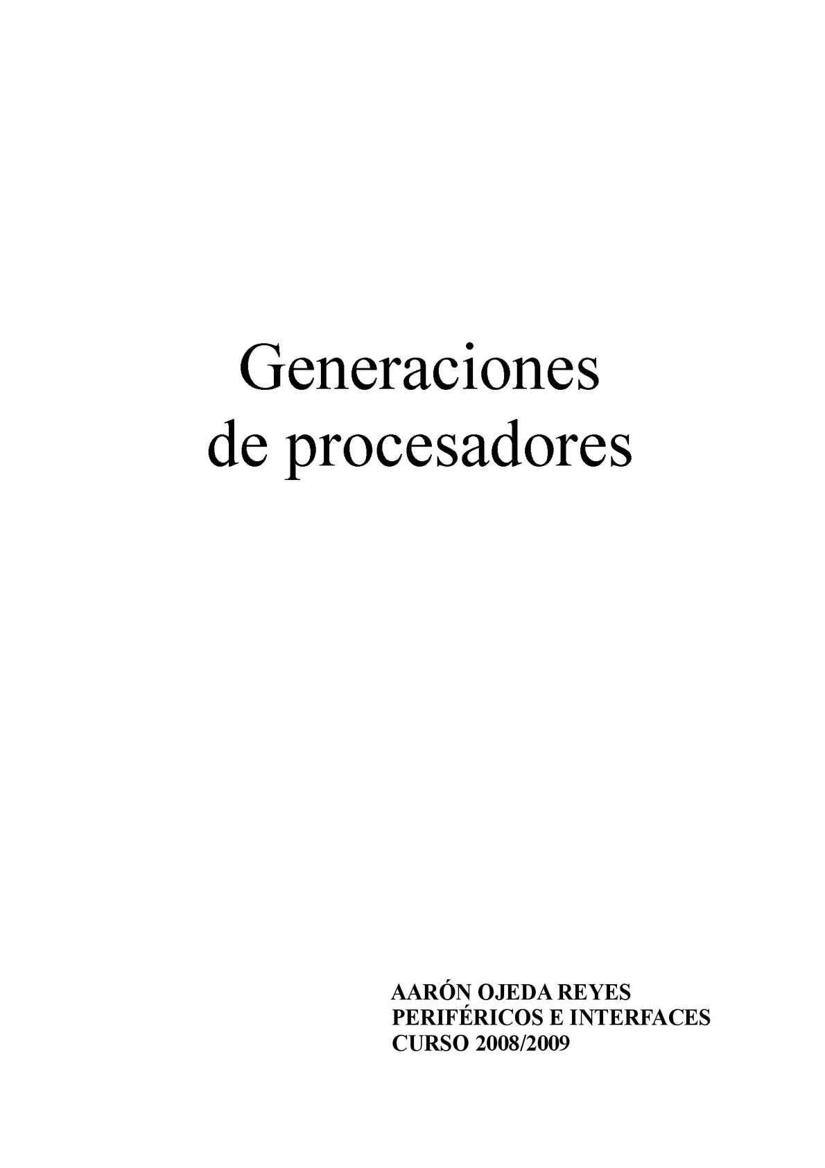 Calaméo - GENERACIONES DE PROCESADORES
