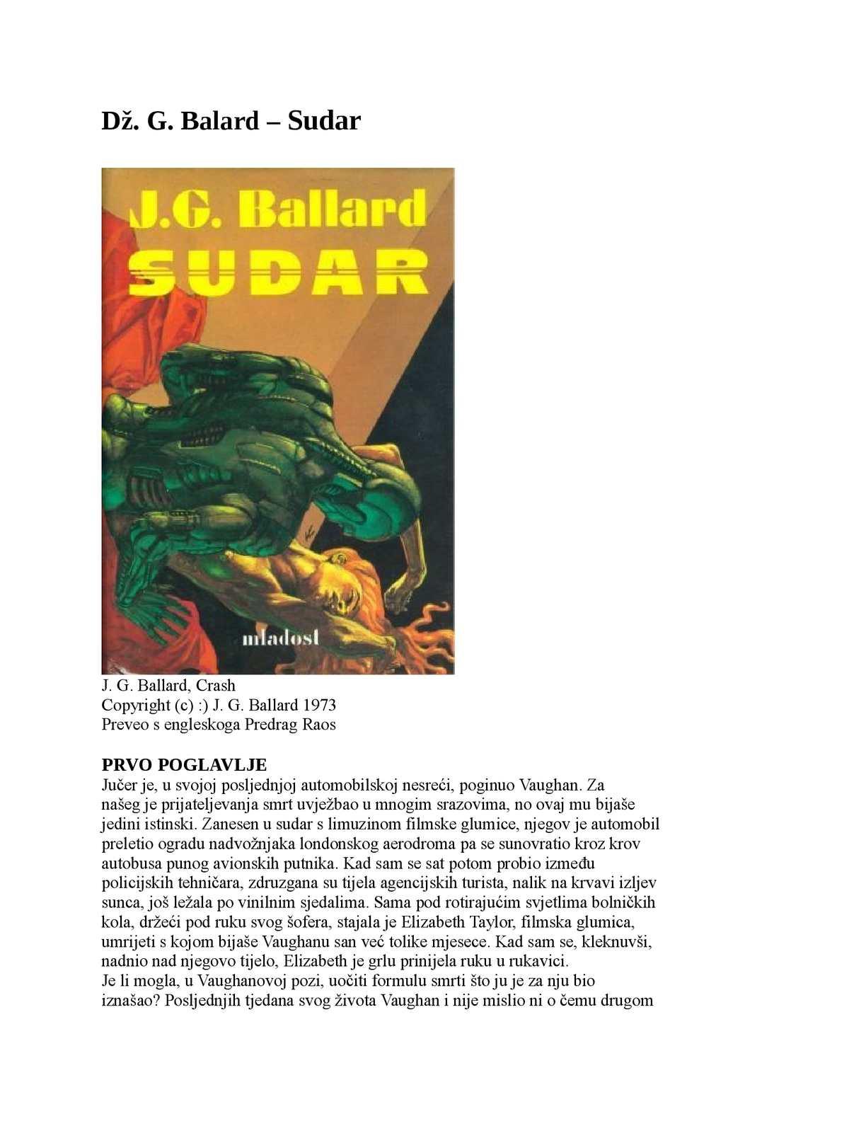 Balard – Sudar.