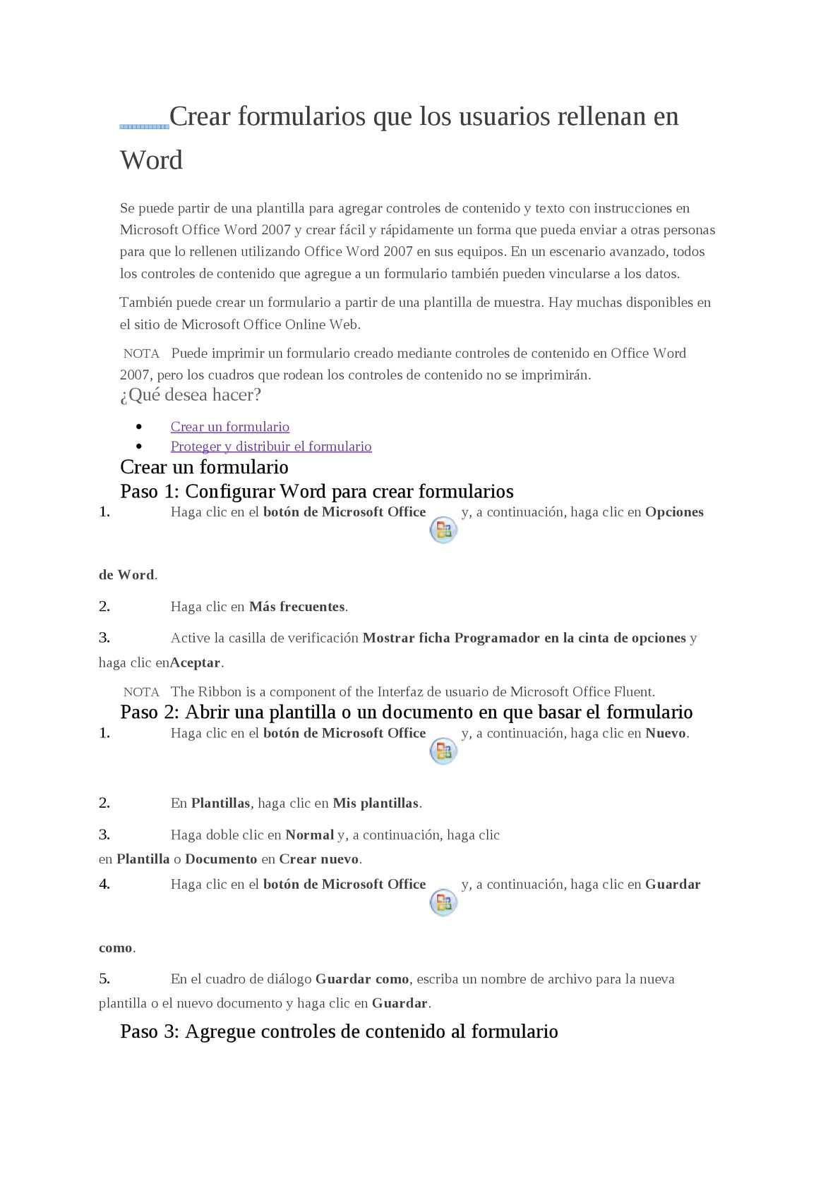 Calaméo - Crear formularios que los usuarios rellenan en Word
