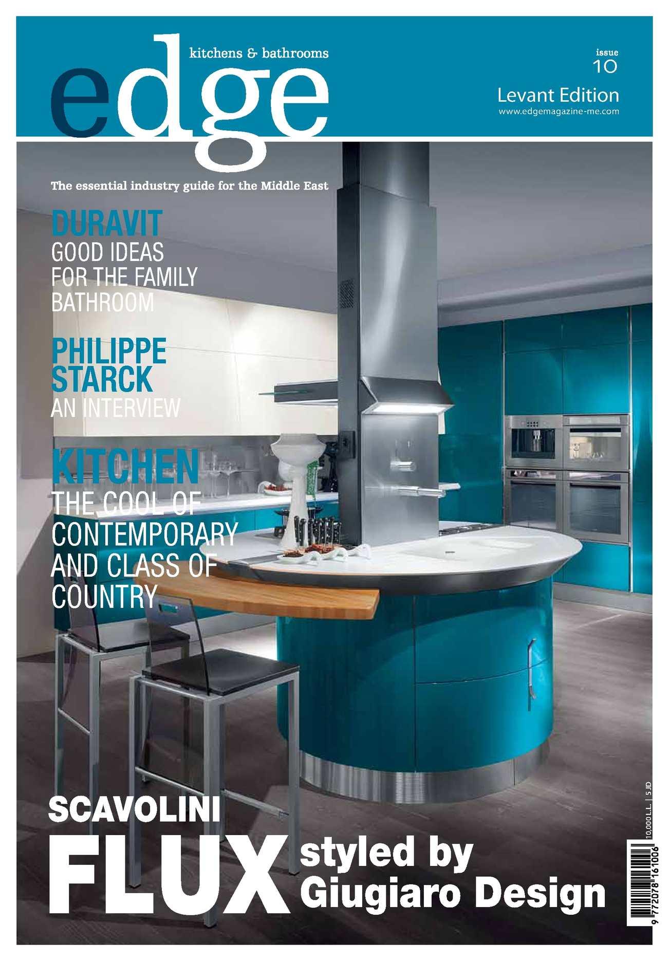 Calaméo - EDGE Kitchens & Bathrooms Magazine Levant Issue 10
