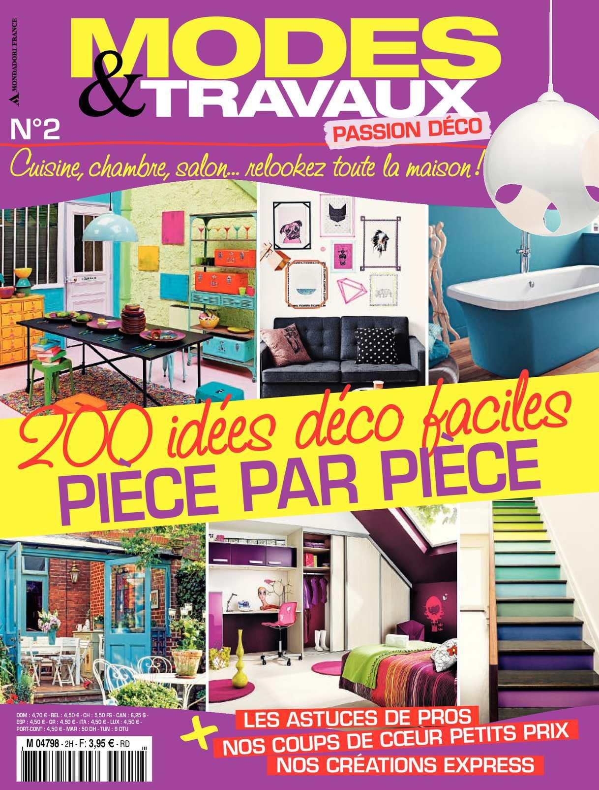 ac4c9597b44221 Calaméo - Modes   Travaux - Passion Déco - 130 idées