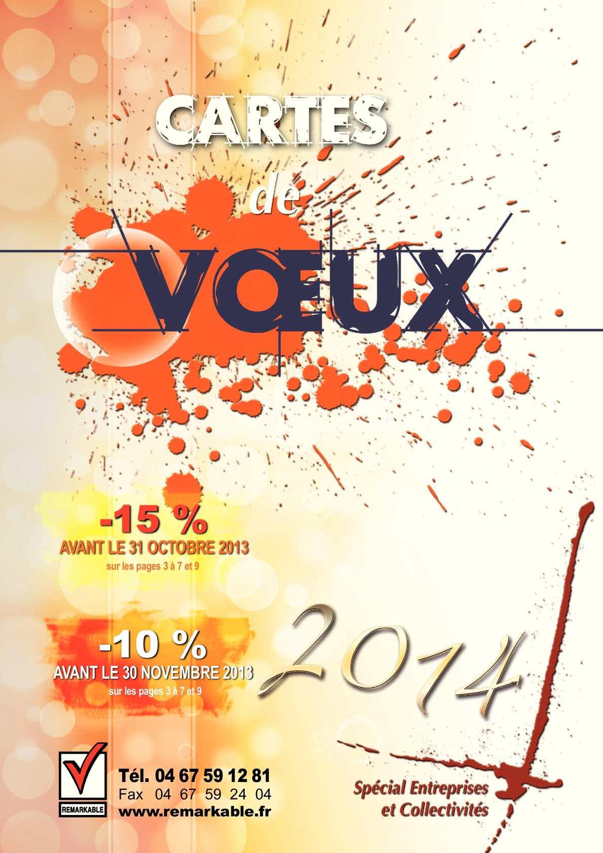 Catalogues Cartes de Vœux 2014