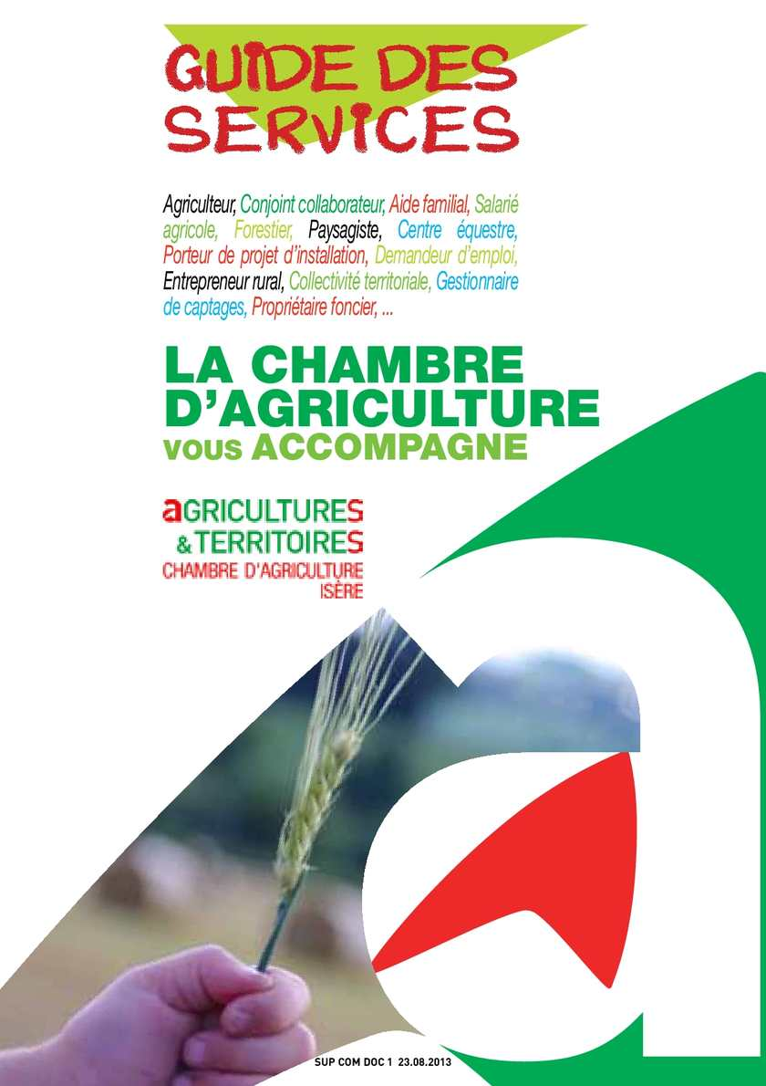 Calam o guide services v3 br 20130801 for Chambre agriculture 06