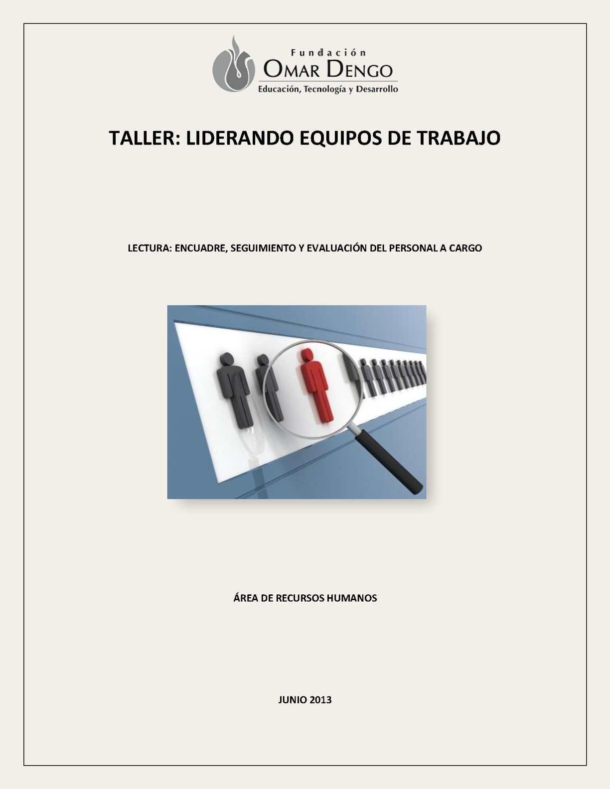 Calaméo - Encuadre, seguimiento y evaluación del personal