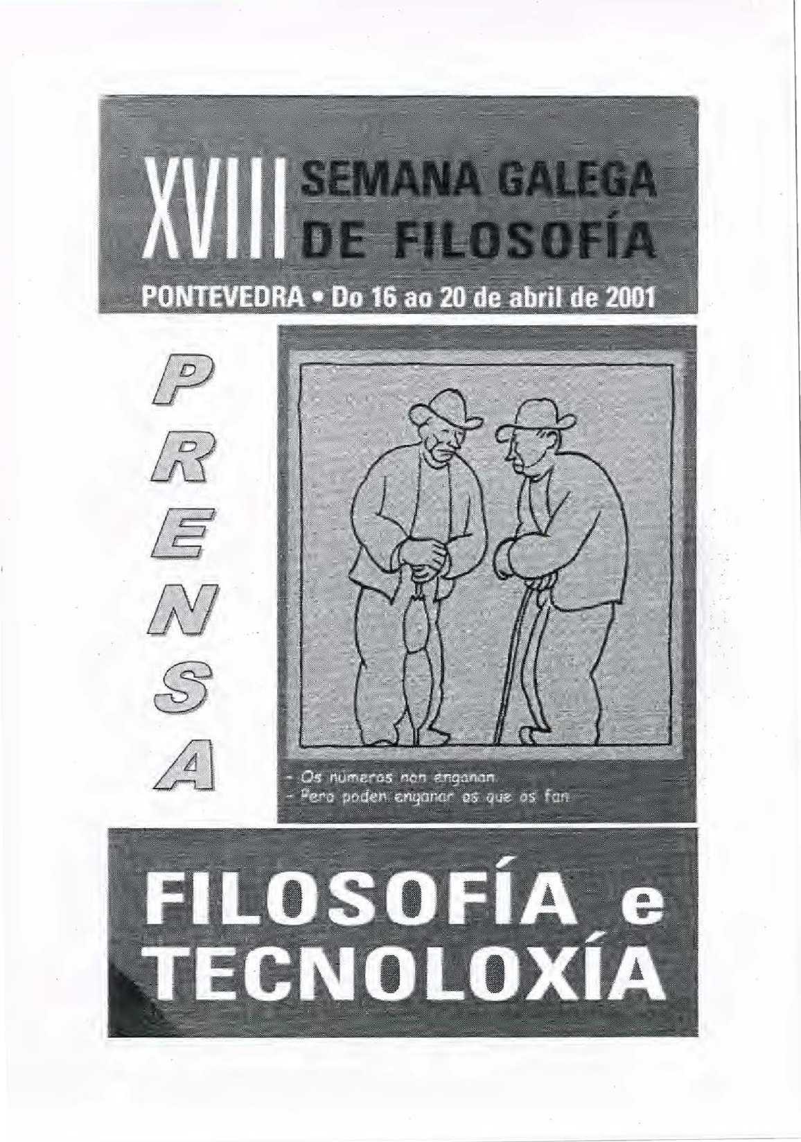 Calaméo - XVIII Semana Galega de Filosofia