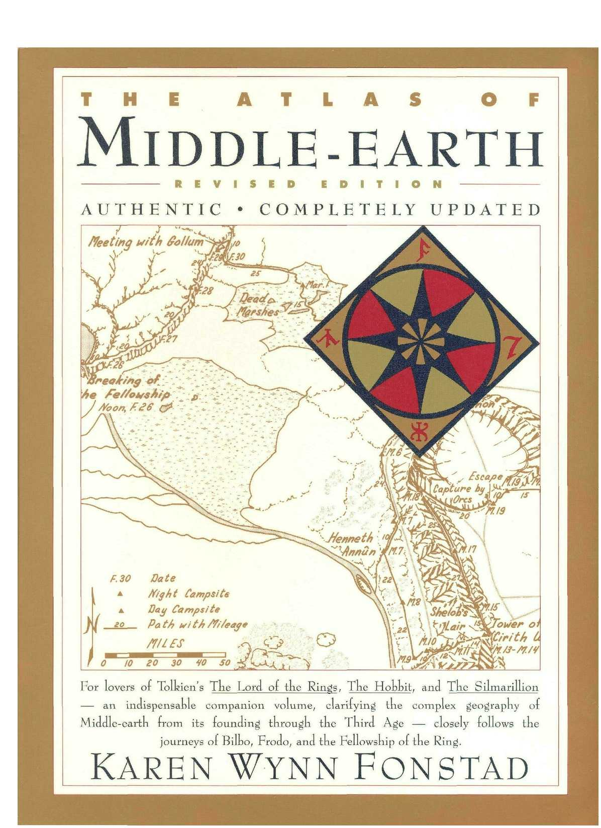 Calamo Jrr Tolkien Atlas Of Middle Earth Helm Snail 315 Yellow Red