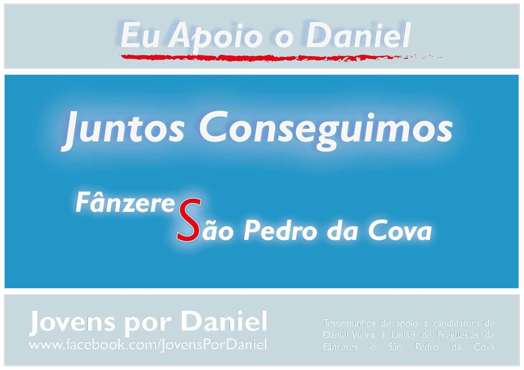 Jovens por Daniel - O Livro de Apoio à Candidatura