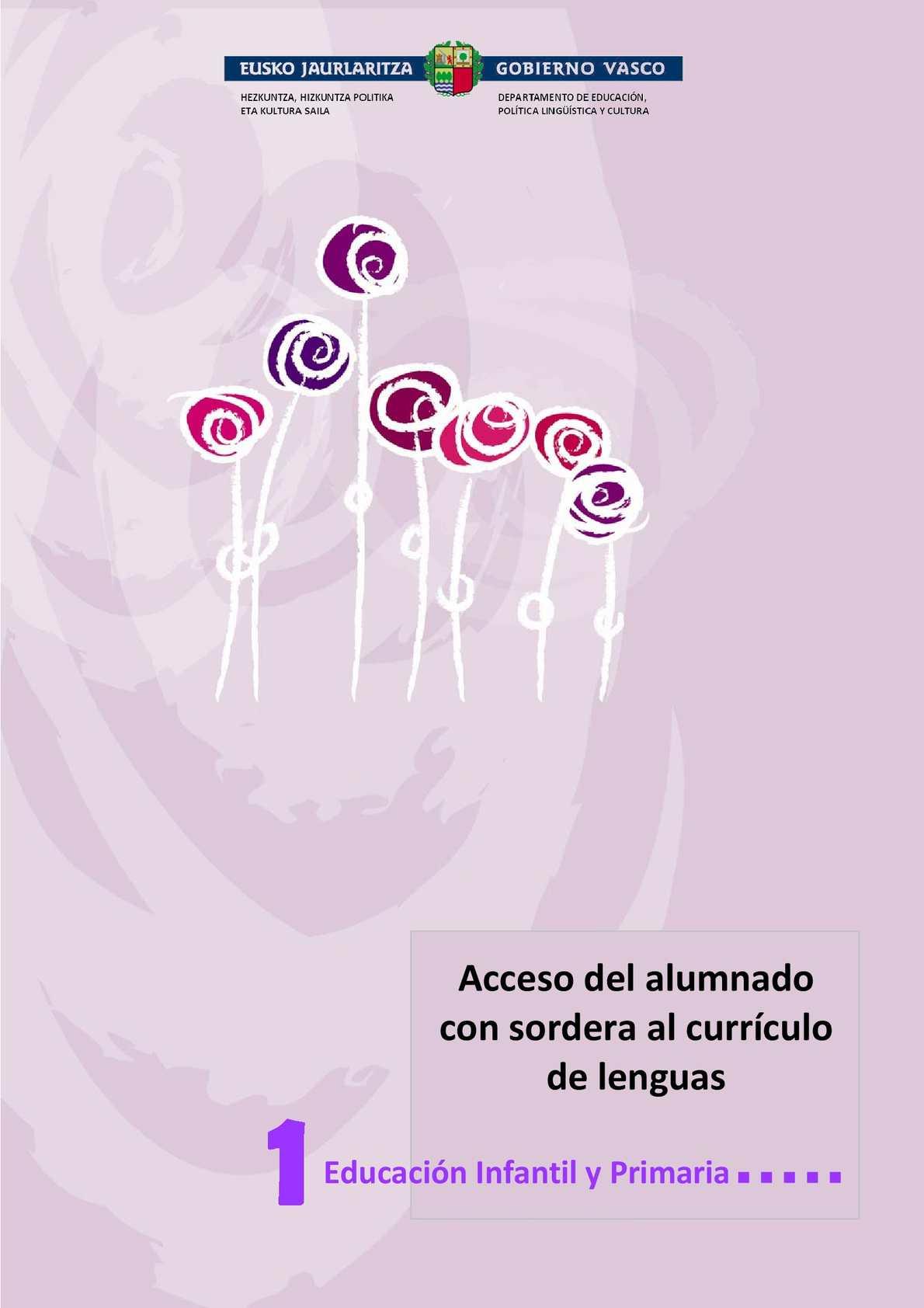 Calaméo - HLH-Acceso del alumnado con sordera al curriculo de lenguas