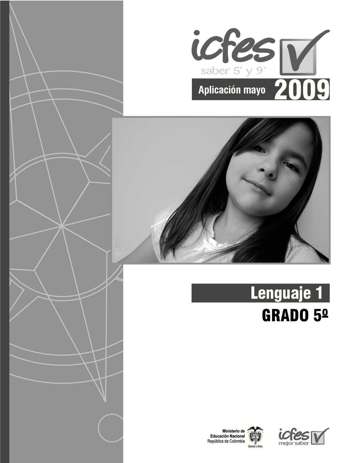 2009B Saber Lenguaje 5