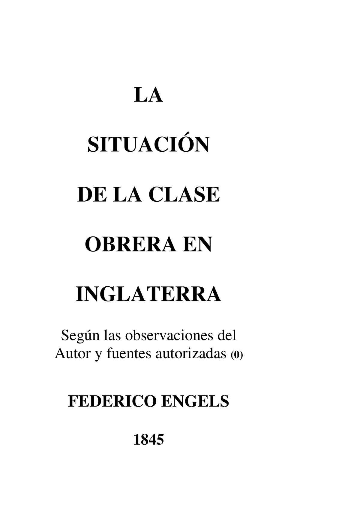 Calaméo - LA SITUACIÓN DE LA CLASE OBRERA EN INGLATERRA-ENGELS