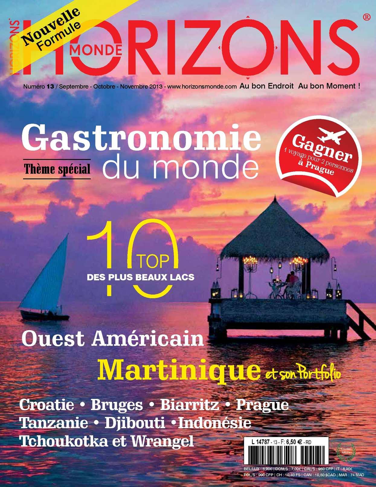 HORIZONS MONDE N°13 Automne 2013