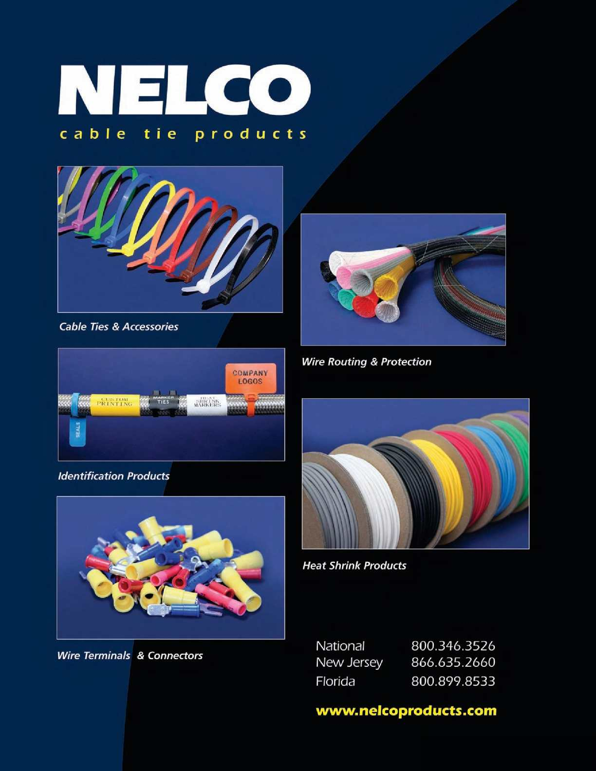 Calamo Nelco Products Cable Zip Ties And Tie Accessories 64 Custom 880 Wiring Harness