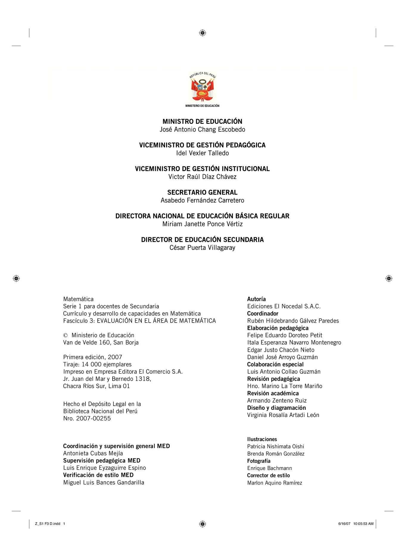 Calaméo - Instrumentos de evaluación MINEDU