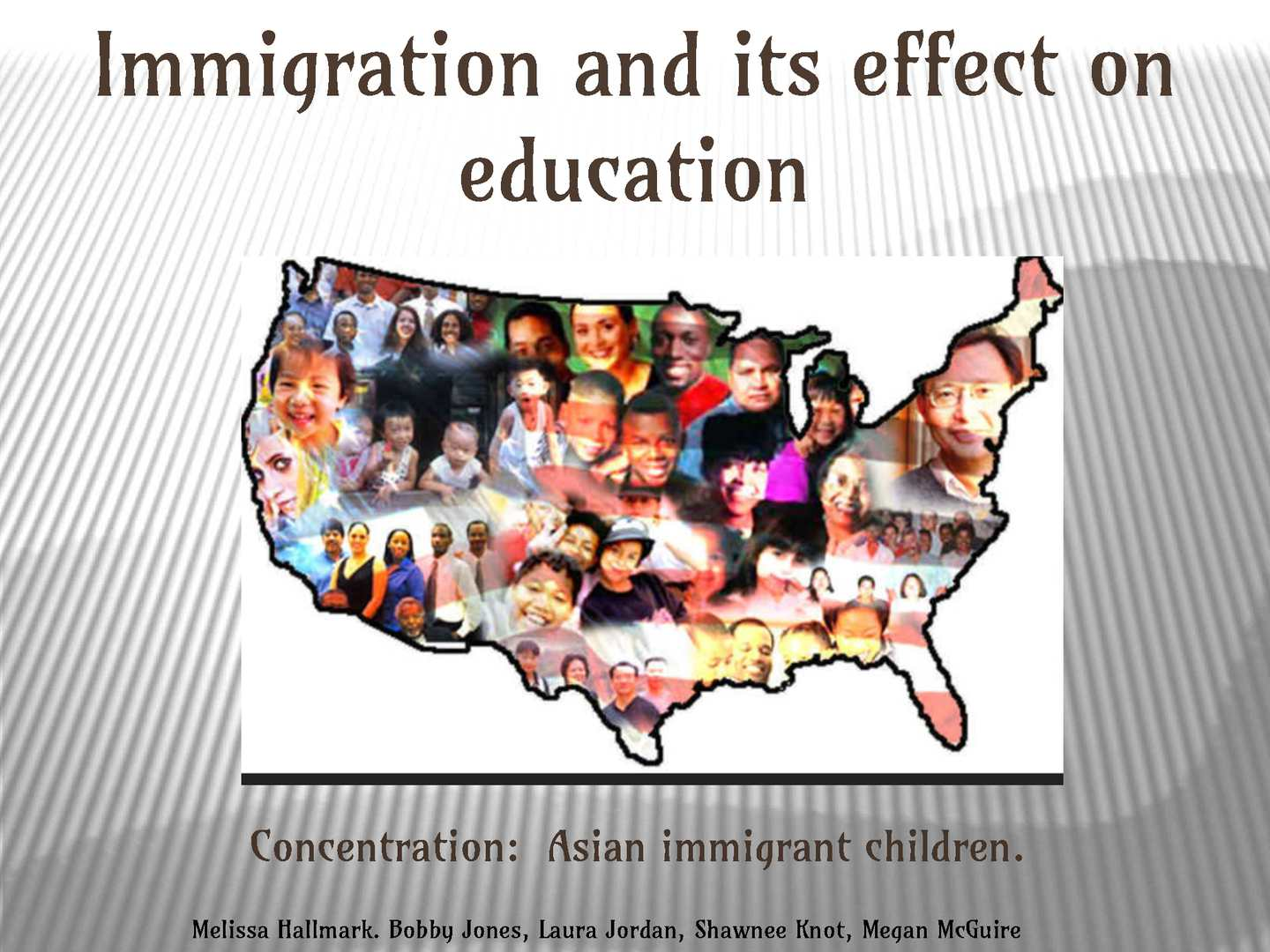 immigration and its effect on the In 1875, the nation passed its first immigration law, the page act of 1875 overall immigration has not had much effect on native wage inequality.