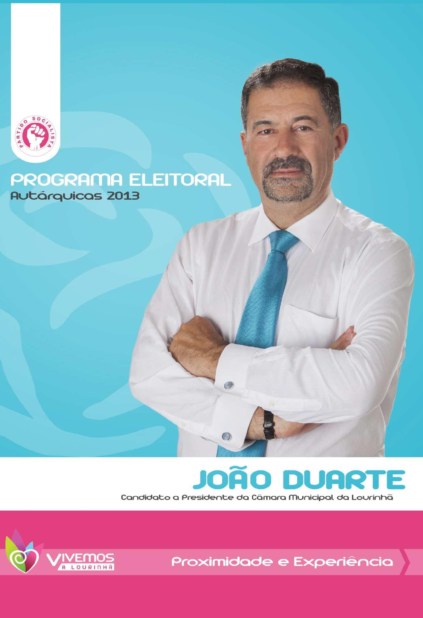 Programa Eleitoral Municipal PS Lourinhã 2013-2017