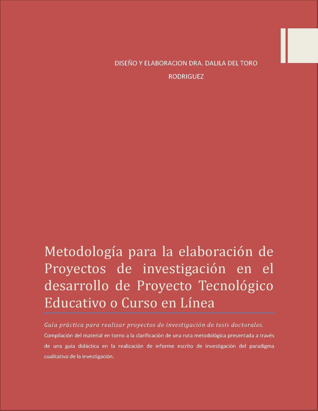 Calaméo - GUIA PRÁCTICA PARA ELABORAR PRODUCTO DE PROYECTO TECNOLÓGICO