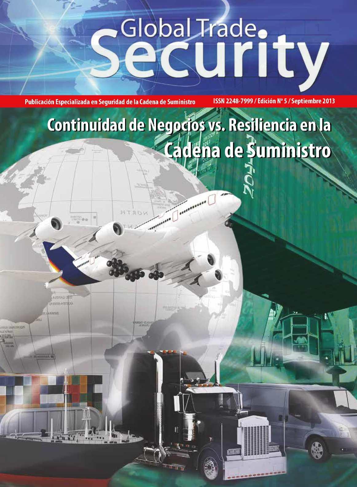 Revista Global Trade Security - Edición No. 05