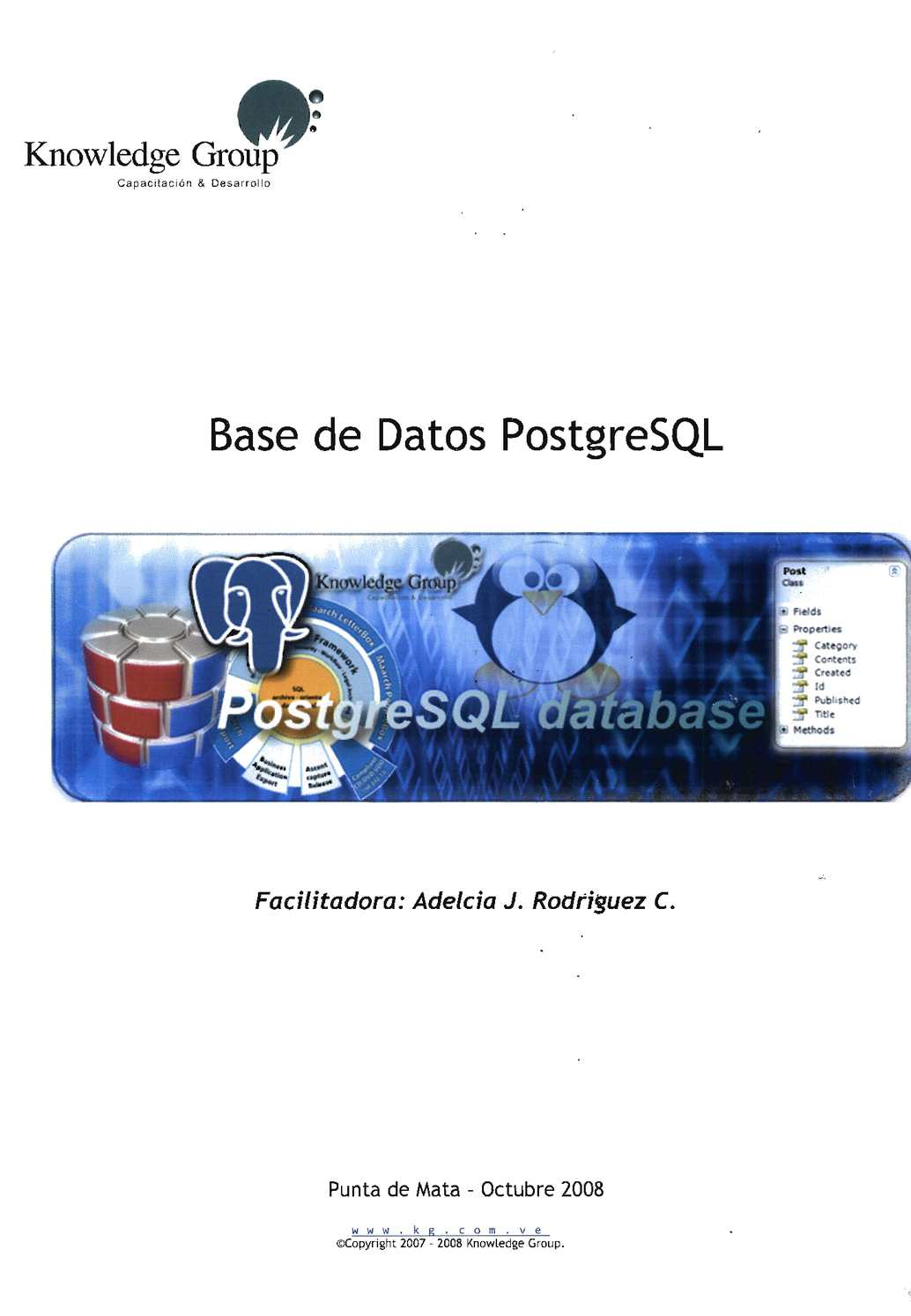 Base de datos PostgreSQL