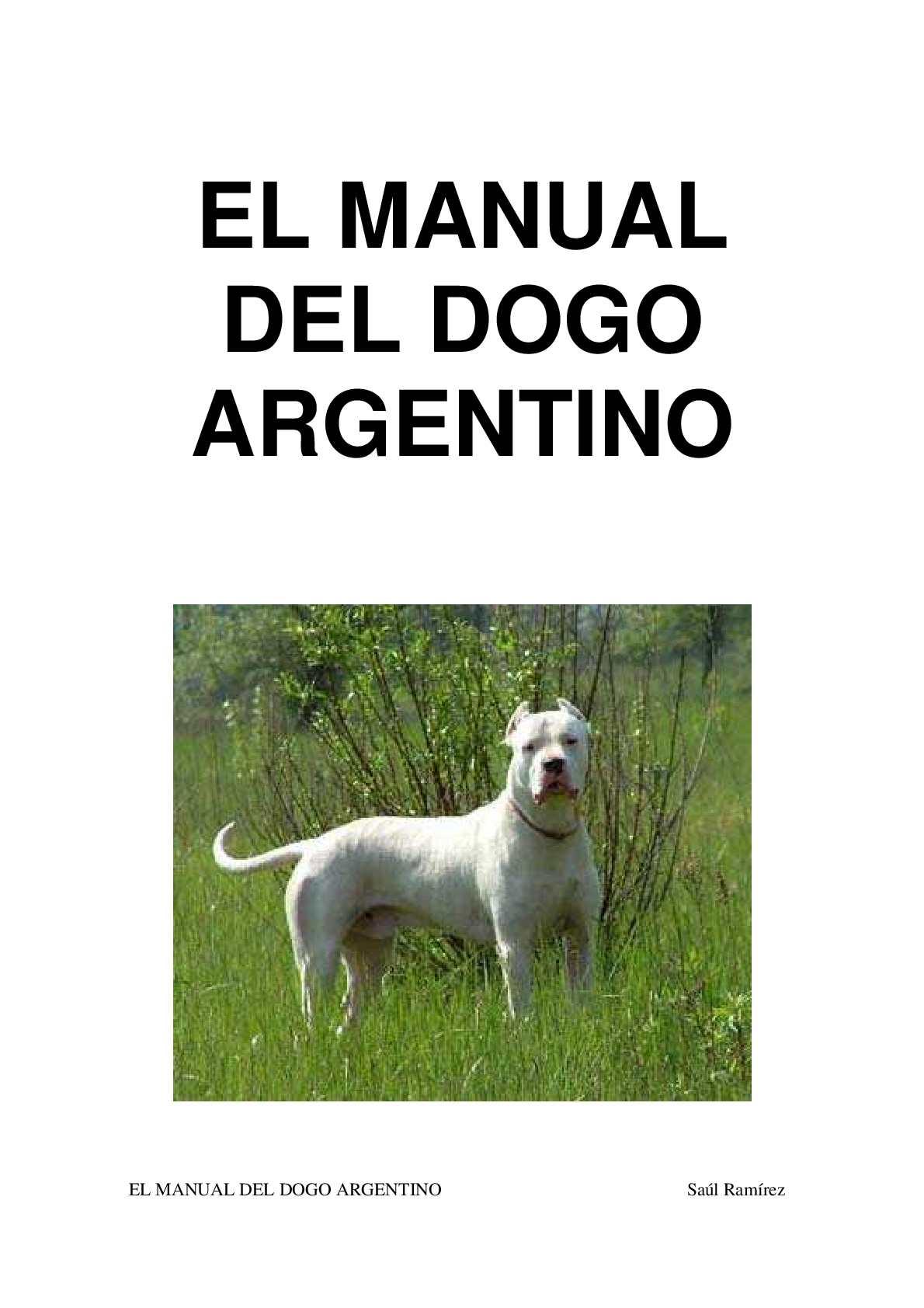 Calam o dogo argentino perro de presa y el mas presa for Revistas del espectaculo argentino