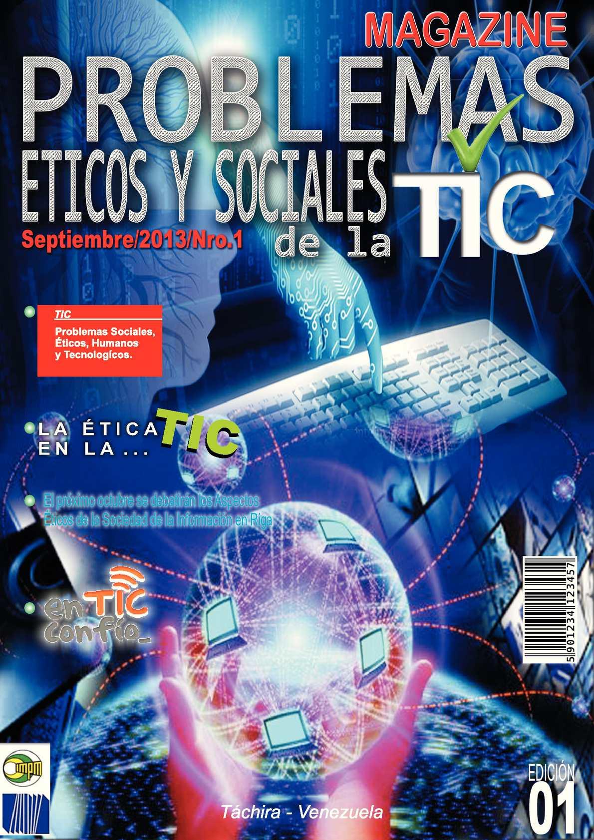 Calaméo - Problemas Éticos y Sociales con las TIC